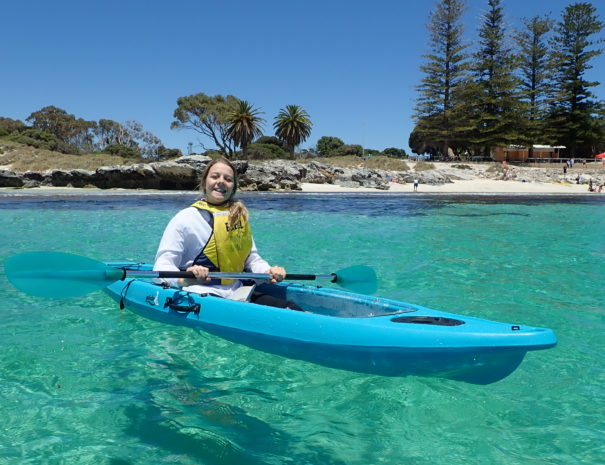 Kayaking in Rottnest