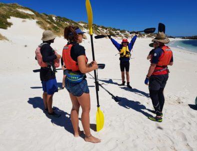 Kayaking Rottnest